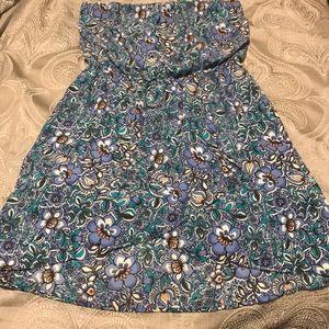 Express tube top dress
